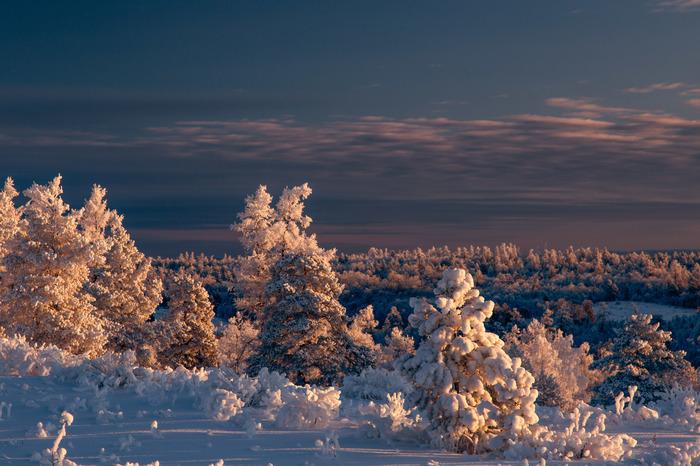 Южный Урал. Восход