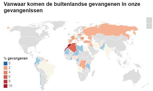 В бельгии полно арабов и негров