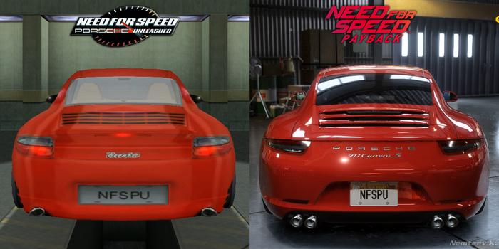Как изменилась графика за 17 лет Need for Speed, Porsche, Ностальгия, Игры, Машина, Скриншот, Эволюция, Длиннопост