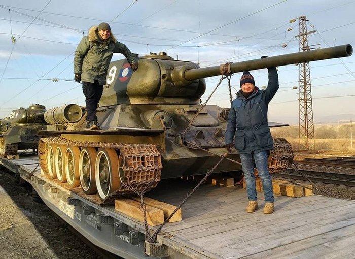 Лаос подарил России танки Т-34 Лаос, Подарок, т-34, Раритет, Длиннопост
