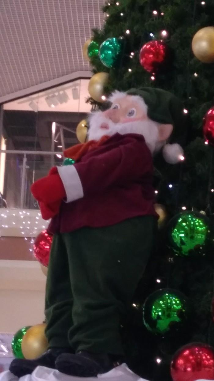 Этот гном что-то видел Новогодняя елка, Гномы, Длиннопост