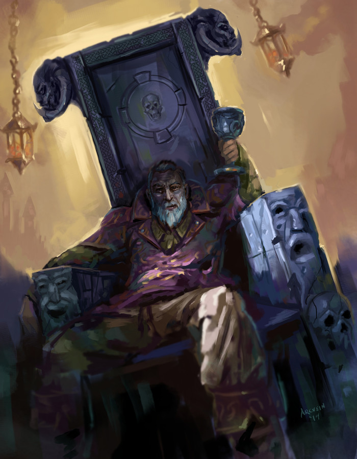 Безумие? Арт, The Elder Scrolls, Шеогорат, The Elder Scrolls IV: Oblivion, Oblivion