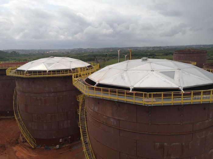 """Как строим """"танки"""" в Гане. Работа, Монтаж, Энергетика, Африка, Гана, Длиннопост"""