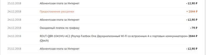 Как провайдер WiFire, он же NetByNet, обманывает новых пользователей Обман, Мошенники, Провайдер, Интернет, Wifire, NetByNet, Длиннопост