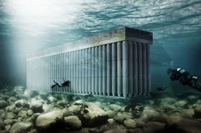Parthenon Seawall — концепт необычной приливной электростанции, созданный нидерландскими архитекторами Гидроэлектростанция, Электроэнергетика, Энергетика, Концепт, Нидерландские архитекторы, Технологии, Длиннопост