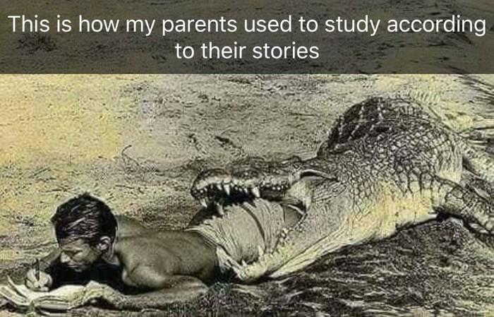 Как привыкли учиться мои родители судя по их историям. Учеба, Родители, Истории, Школа, Картинка с текстом, Reddit
