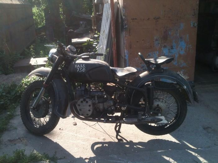 КМЗ К750 1969г. Длиннопост, Днепр, МТ, КМЗ, Мотоциклы, Раритет