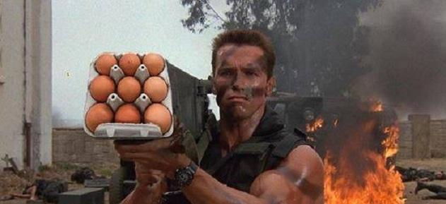 Так, вот для чего нужен девяток яиц!