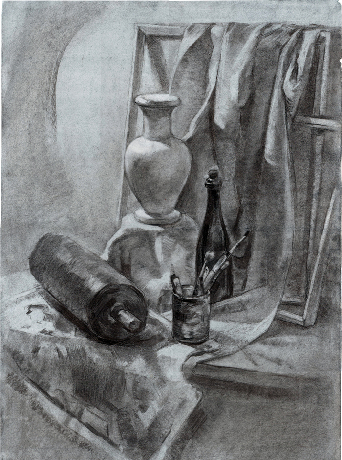 Рисованный натюрморт