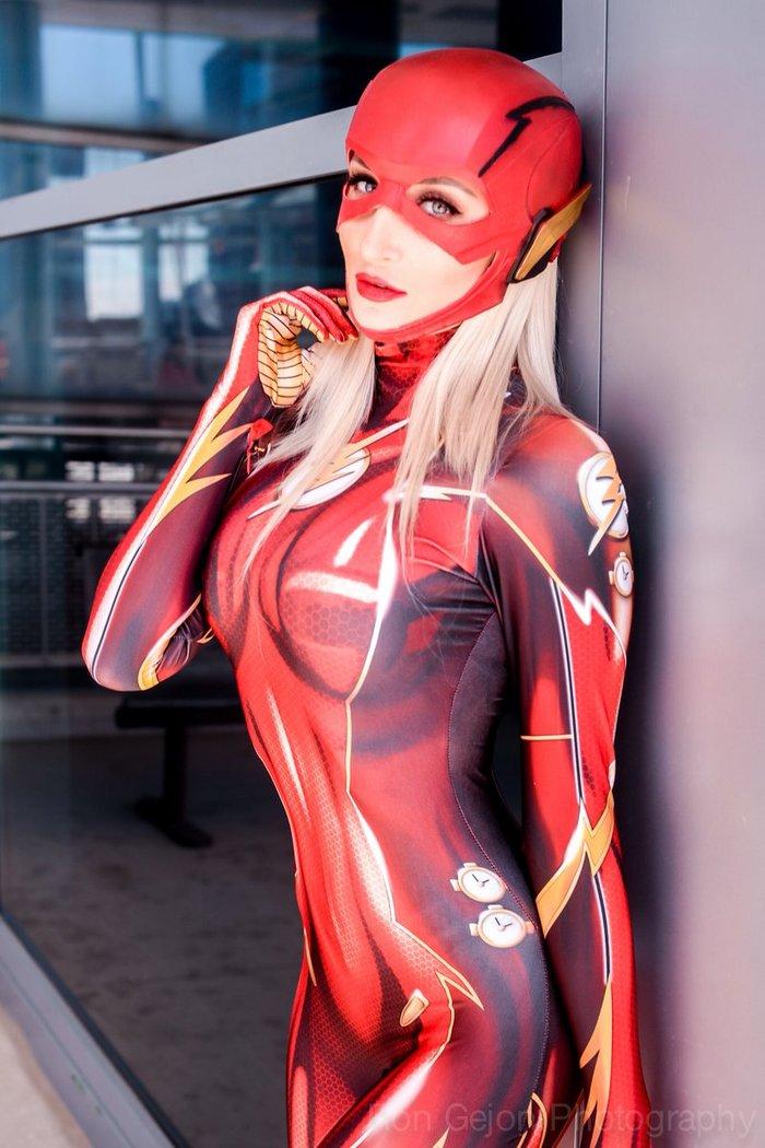 Flash < HollyWolf> Flash, The Flash, Косплей, Косплееры, Костюм, Длиннопост