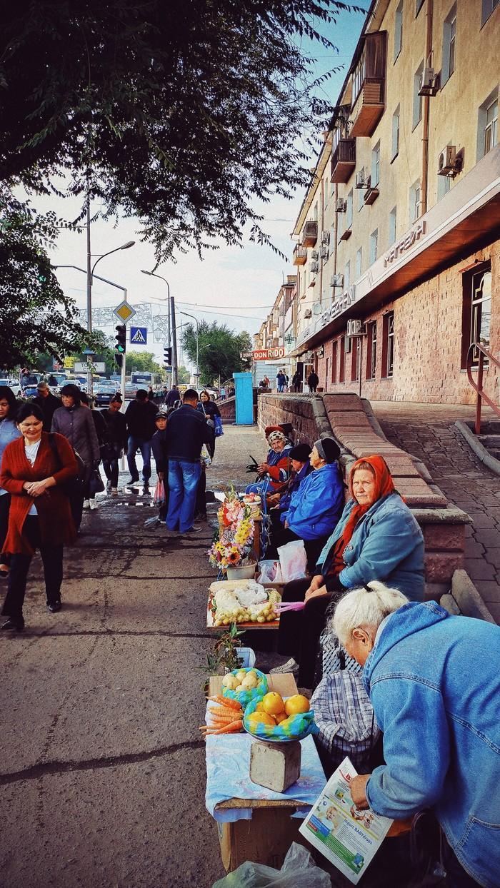 Такая, вот, жизнь на пенсии Караганда, Бабушка, Пенсия, Торговля, Фотография, Казахстан