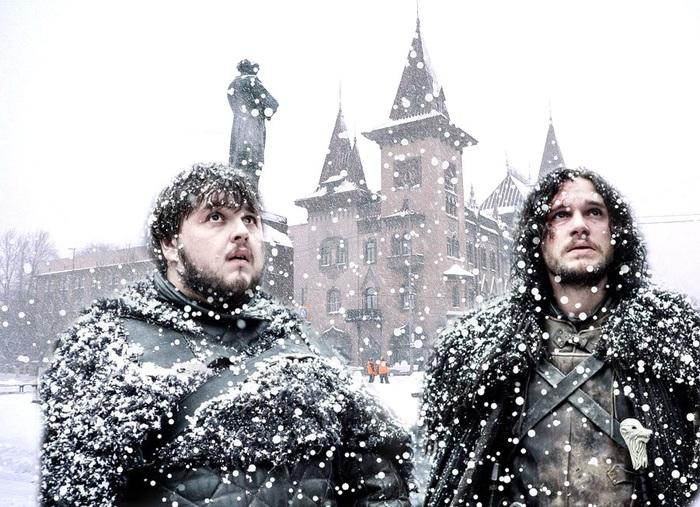 Саратов вновь ожидает испытание метелью, гололедом и заносами Саратов, Снегопад, Погода
