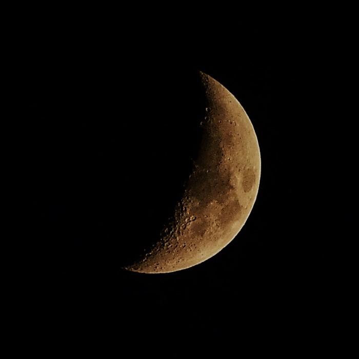 Луна сегодня вечером 12.01.2019 Кронштадт Начинающий фотограф, Хочу критики, Nikon d5100, Ночная съемка, Луна, Mysterious Moon, Кронштадт