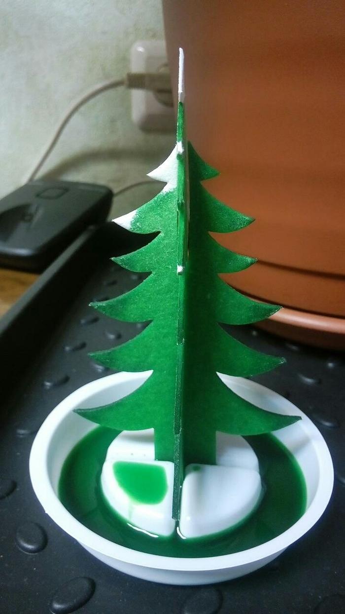 Как я вырастил елку Ёлка, Длиннопост, Кристаллы, Кристаллизация, Химия