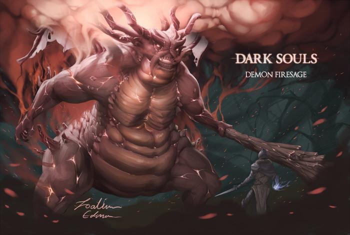 ByJoakim Edman Joakim Edman, Арт, Dark Souls, Рисунок