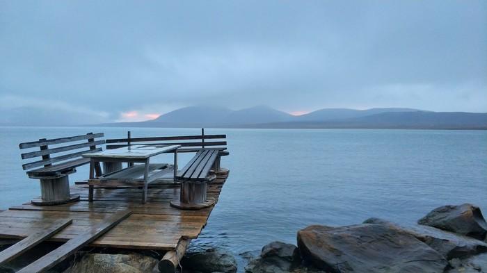 Природа Новой Земли Новая земля, Пролив, Море, Горы, Туман, Фотография, Длиннопост