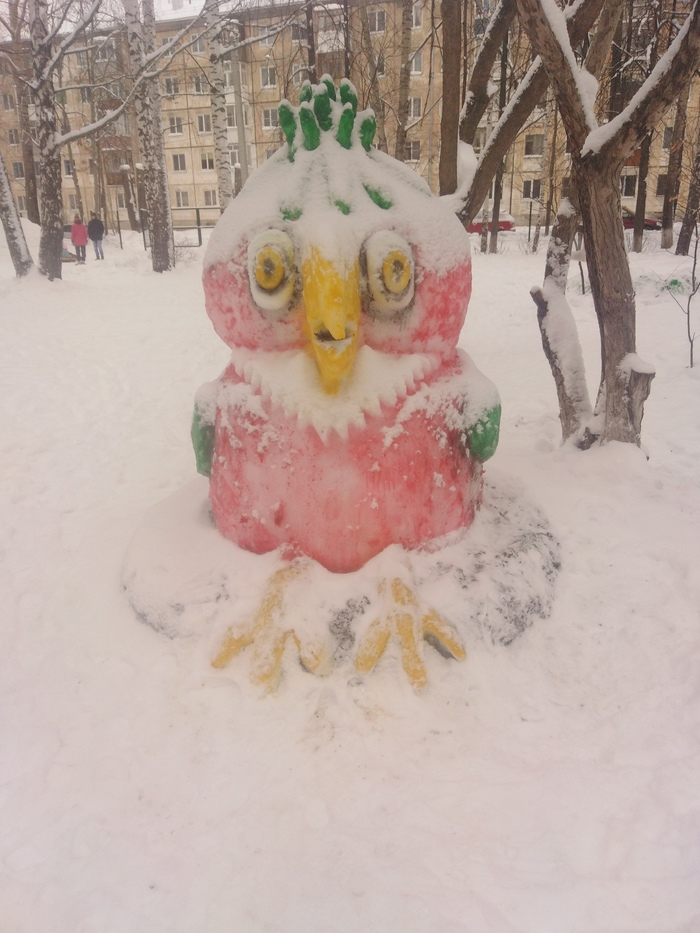 Снежные скульптуры Зима, Скульптура, Длиннопост