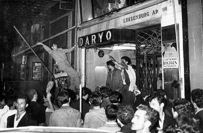 Стамбульский погром 1955 года Турция, История, Погром, Бунт, Истории из интернета, Длиннопост