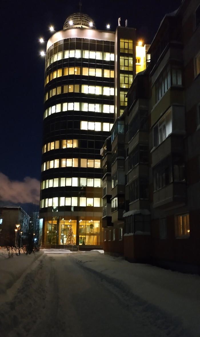 Контраст Архитектура, Контраст, Ночной город