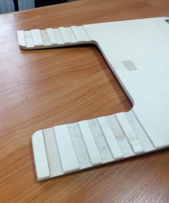 Самодельный мольберт-планшет