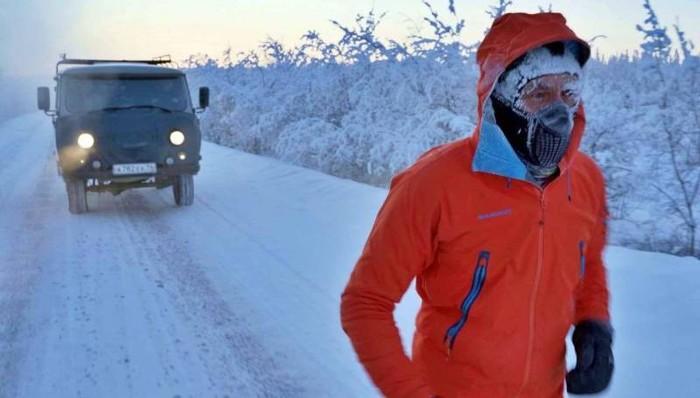 «Это как выход в открытый космос». Экстремал из Молдовы пробежал ультрамарафон на Полюсе Холода Якутия, Экстремалы, Благотворительность, Копипаста, Оймякон, Длиннопост