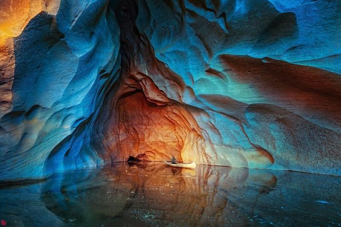 Пещера Ледяной Сказ в Челябинской области. Невероятная красота!Фото: Александр Осипов