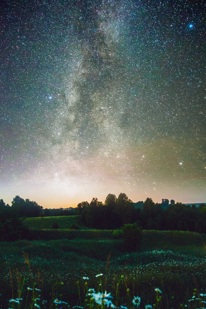 Один из моих астропейзажей за 2018. Фотография, Фотошоп мастер, Астрофото, Canon, Млечный путь, Длиннопост