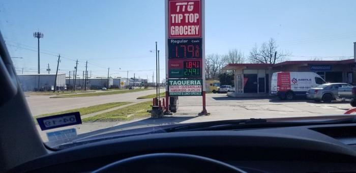 Цены на безин Цена на бензин, США