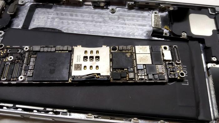 Iphone 6 - восстановление данных+увеличение памяти до 128gb+солюшен для сервисов Восстановление данных, Iphone 6, Tristar, Контроллер питания, Увеличение памяти, Неудачный ремонт, Длиннопост