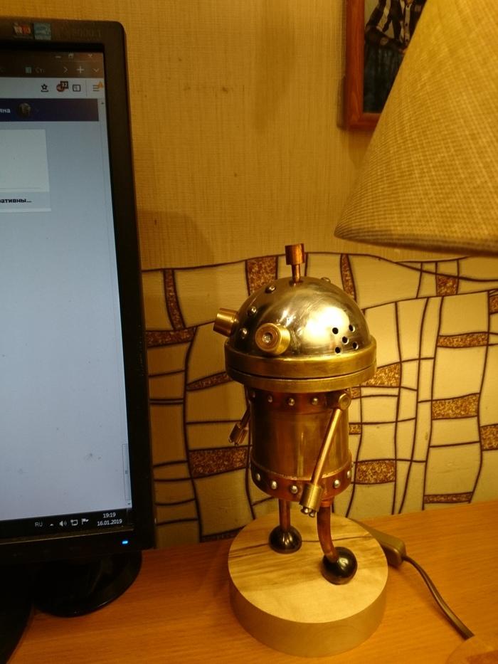 Робот Йозеф из любимой игры Mashinarium Mashinarium, Робот, Подарок, Длиннопост