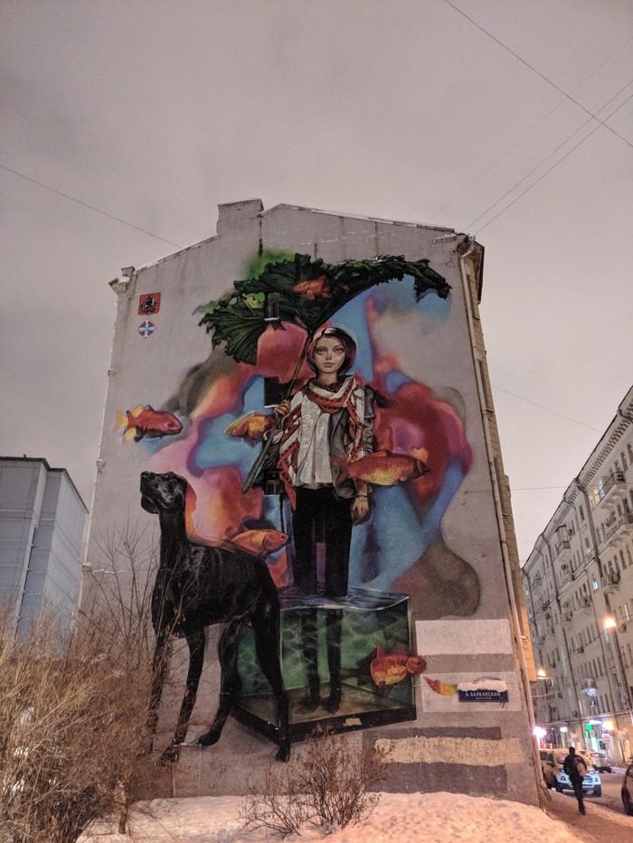 Стрит арт Граффити, Стрит-Арт, Oneplus, Длиннопост