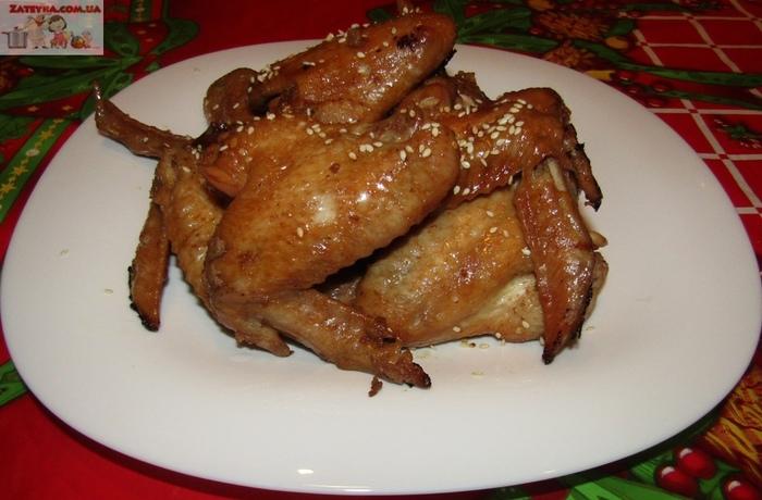 Куриные крылышки, маринованные в яблочном сидре Куриные крылышки, Видео рецепт, Кулинария, Закуска к пиву, Видео, Длиннопост, Маринад, Рецепт