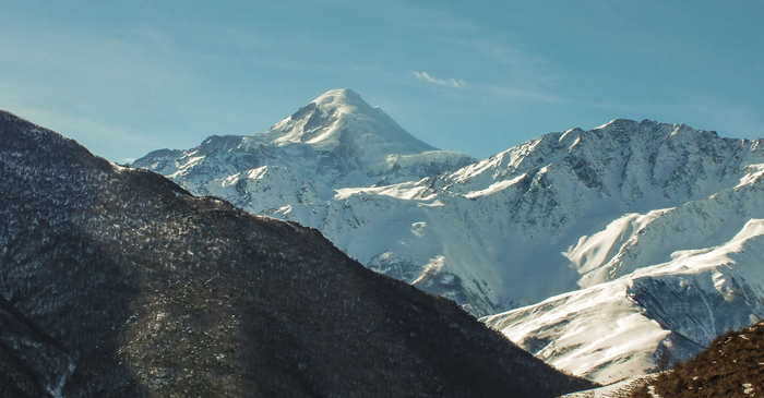 Казбек. Джейрах, Ингушетия, Кавказ, Туризм