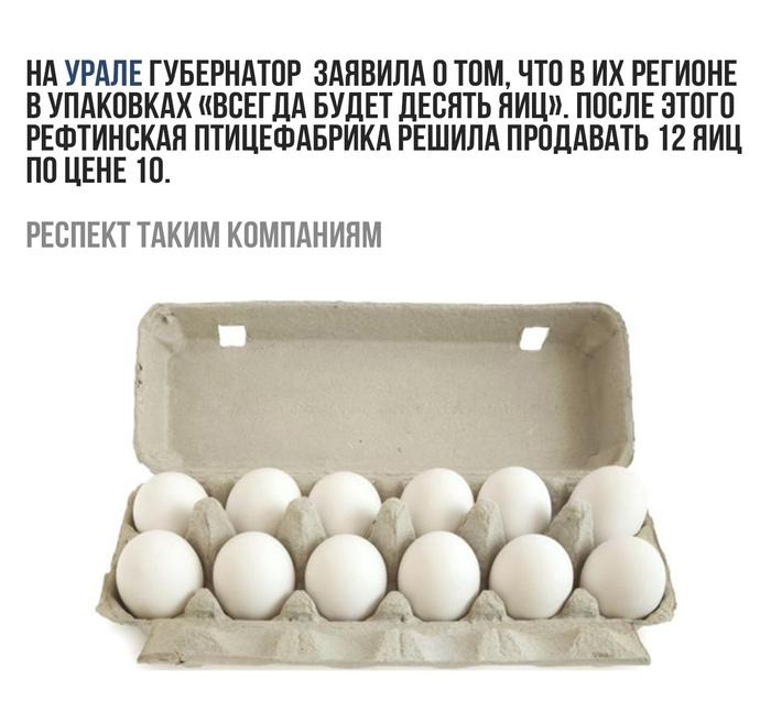 12 яиц