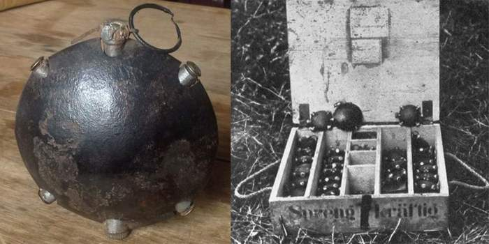 Японские «хвосты» и немецкие «черепахи»: самые необычные гранаты мировых войн Длиннопост, История, Война, Оружие, Гранаты
