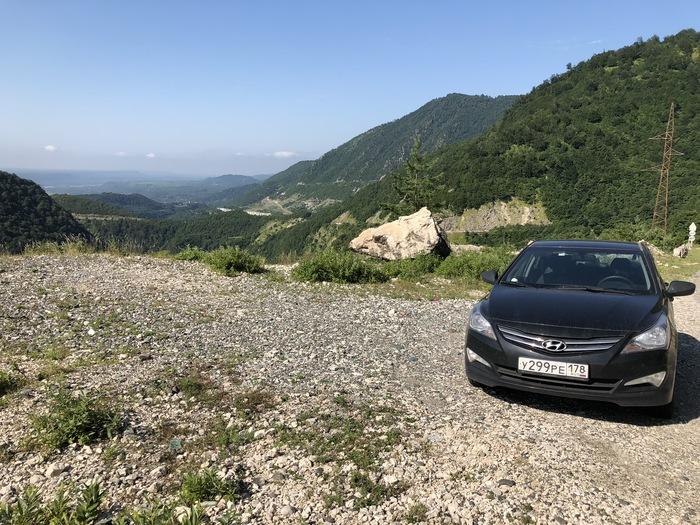 В грузию на авто фотоотчет