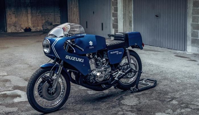 SUZUKI SAIAD GT750 S VALLELUNGA. ДВУХТАКТНЫЙ, 750 КУБОВЫЙ, КОРЧ. Спортбайк, Кастом, Творчество, Мото, Мотоциклы, Мотоциклист, Раритет, Ретро, Длиннопост