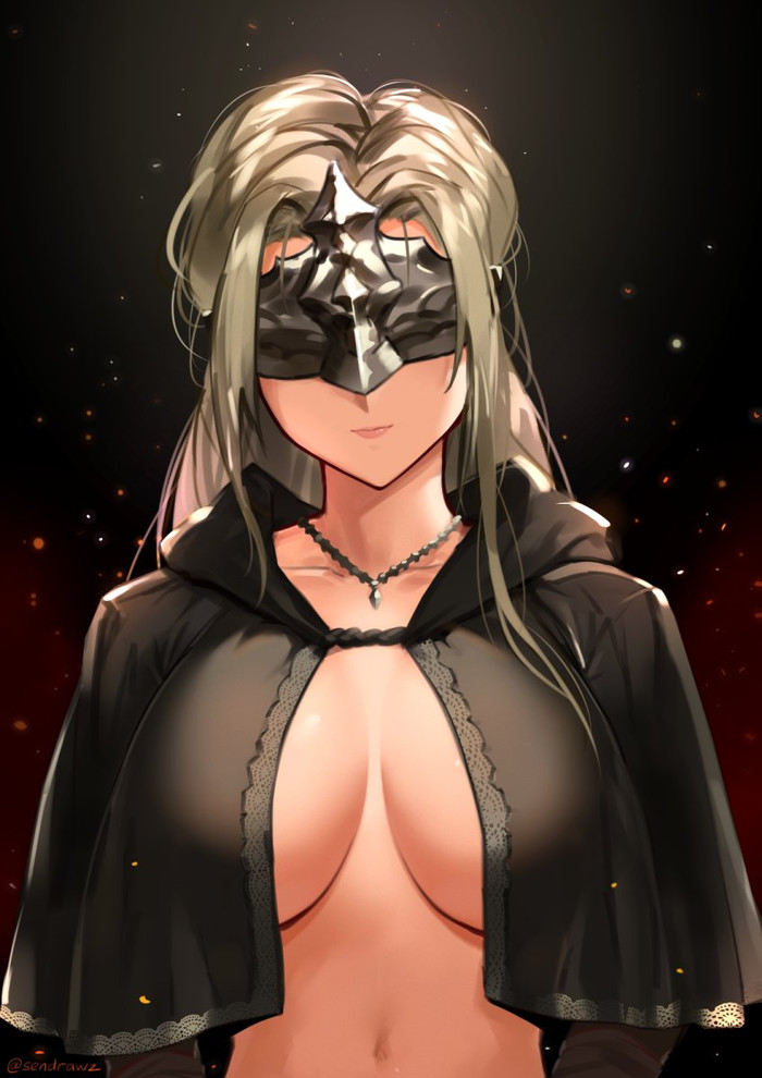 Firekeeper Dark Souls, Dark Souls 3, Firekeeper, Anime Art, Сиськи