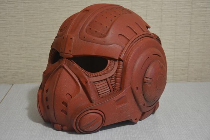 Шлем из Gears of war Шлем, Своими руками, 3D печать, Gears of War, Длиннопост