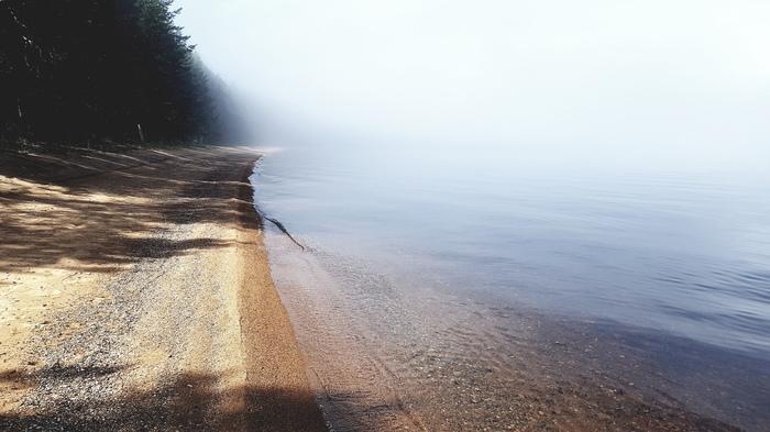 Туман на Онеге
