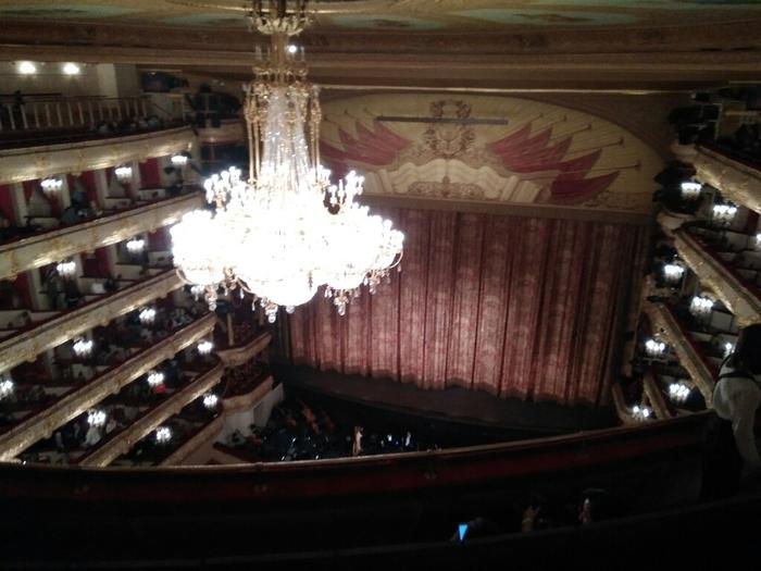 Как я в Большой театр ходил Большой театр, Культура, Длиннопост