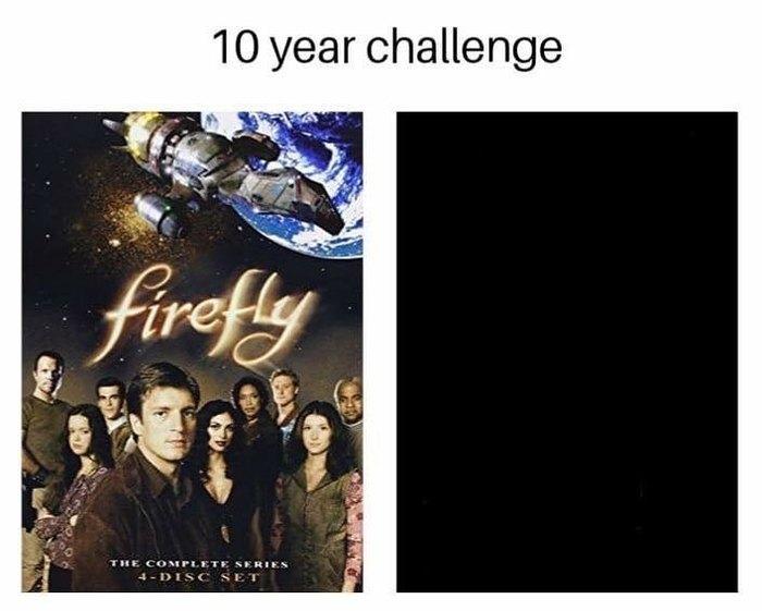 Светлячок, 10 лет спустя. Светлячок, Натан Филлион, 10yearschallenge, Instagram