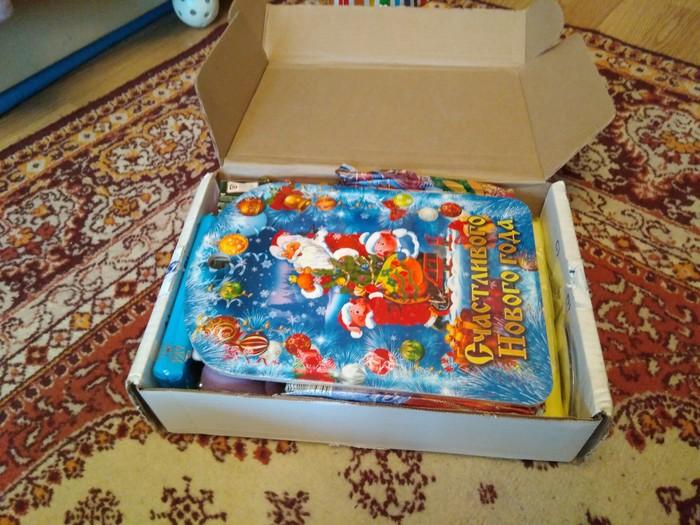 Наконец-то добрался и мой подарок до меня! Отчет по обмену подарками, Новогодний обмен подарками, Радость, Длиннопост