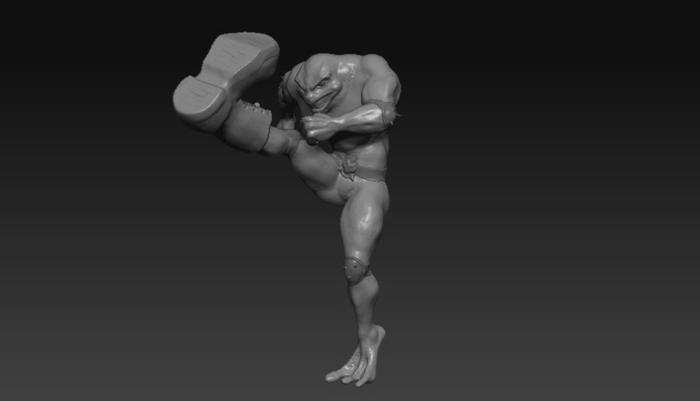 [Скульптура] Battletoads часть 3. Выходные с пользой Скульптура, Фигурка, 3D моделирование, Игрушки, Компьютерные игры, Battletoads, Лепка, Видео