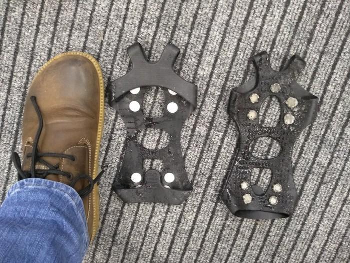 Безопасность на льду Гололёд, Кошки на обувь, Здоровье, Безопасность, Длиннопост