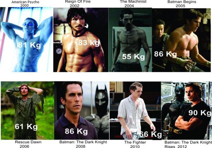Кристиан Бэйл посмотрел в лицо смерти и зарёкся сидеть на диетах Фильмы, Кристиан Бейл, Диета, Видео, Длиннопост