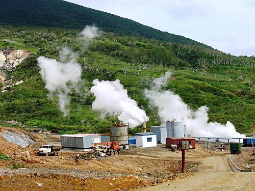 Геотермальное отопление на Курилах. Дальний Восток, Курильские острова, Геотермальная Электростанция, Длиннопост