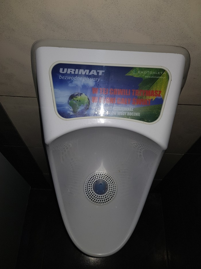 И не поспоришь) Туалет, Из увиденного