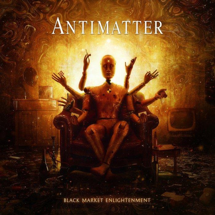 "Antimatter - ""Black Market Enlightenment"" 2018 Progressive, Психоделика, Эмбиент музыка, Видео, Длиннопост"