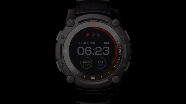 PowerWatch 2 — первые умные цветные часы, не нуждающиеся в зарядке Powerwatch, Kickstarter, Indiegogo, Гифка